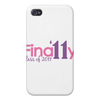 Finally Class of 2011 Pink Case For iPhone 4