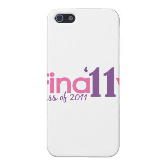 Finally Class of 2011 Pink iPhone 5 Covers