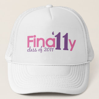 Finally Class of 2011 (Pink) Trucker Hat