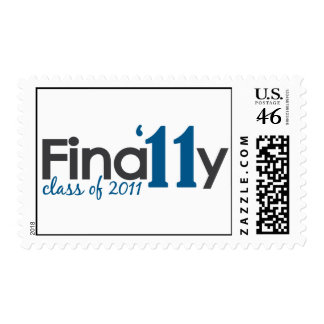 Finally Class of 2011 Postage Stamps