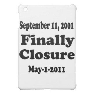 Finally Closure Sept 11 iPad Mini Covers