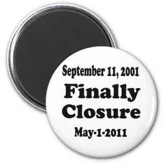 Finally Closure Sept 11 Magnet