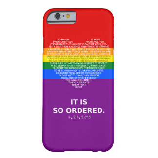 Finally Equal iPhone 6 Case - Marriage Equality
