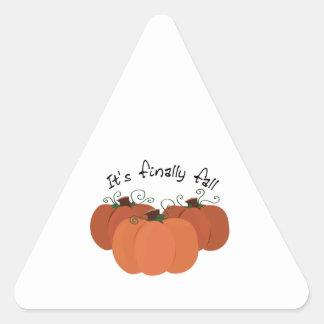 Finally Fall Stickers