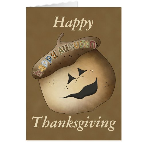Finally Fall Thanksgiving Card