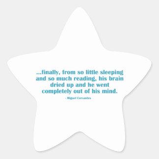 Finally, From So Little Sleeping... Star Sticker