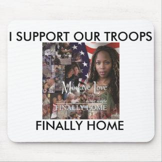Finally Home, Military, Mousepad Mousepad