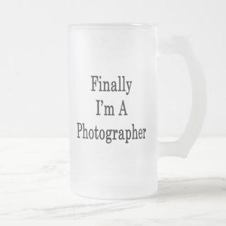 Finally I'm A Photographer Mug