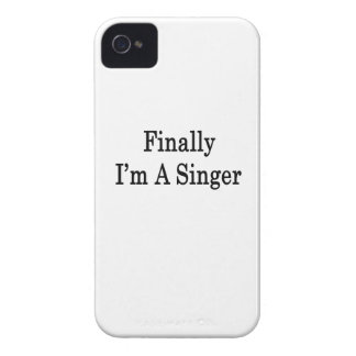 Finally I'm A Singer Case-Mate iPhone 4 Cases