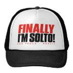FINALLY I'M SOLTO SÃO PAULO TRUCKER HAT