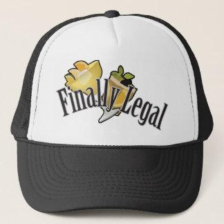 Finally Legal Trucker Hat