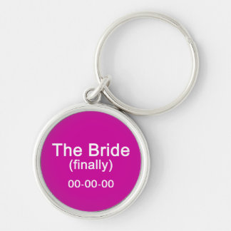 Finally the Bride Gift Keychain