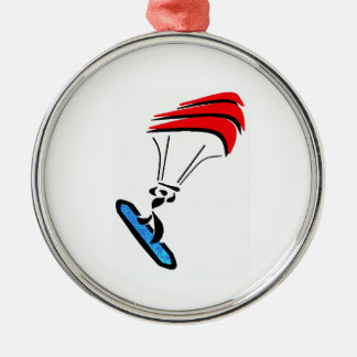 FINALLY THE WIND ROUND METAL CHRISTMAS ORNAMENT