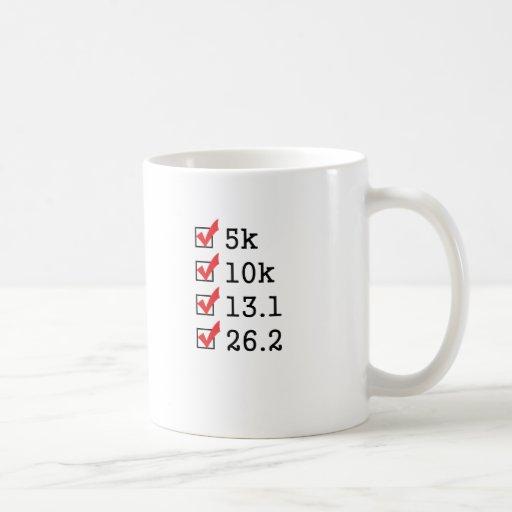Finalmente funcionó con el maratón taza básica blanca