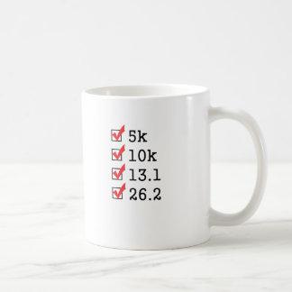 Finalmente funcionó con el maratón taza clásica