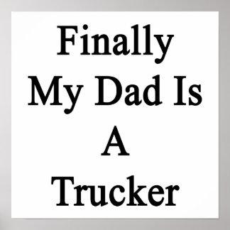 Finalmente mi papá es camionero impresiones