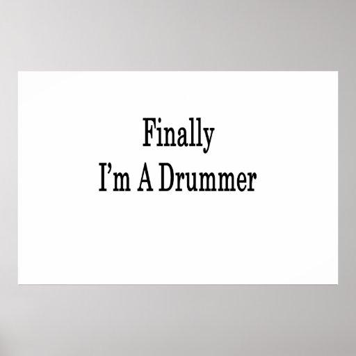 Finalmente soy batería poster