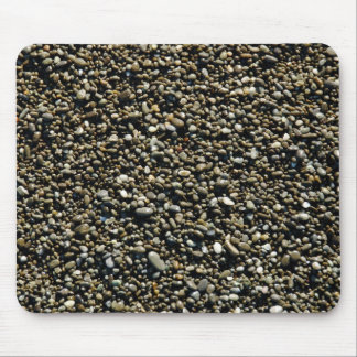 Finalmente textura de la playa de Pebbled Tapete De Raton