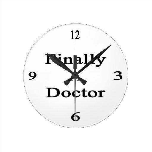 Finalmente un doctor relojes