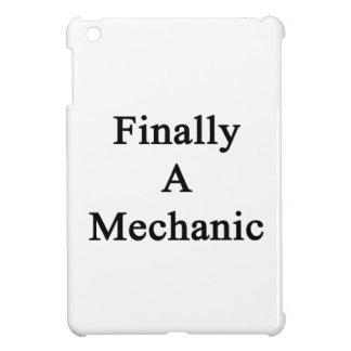 Finalmente un mecánico iPad mini funda