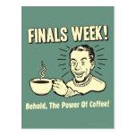 Finals Week: Behold Power Coffee Postcard