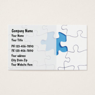 Finance Business Cards
