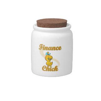 Finance Chick Candy Jar