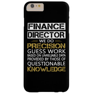 FINANCE DIRECTOR BARELY THERE iPhone 6 PLUS CASE