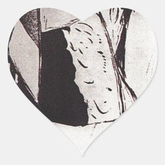 Finance Minister Sergei Witte by Boris Kustodiev Heart Sticker