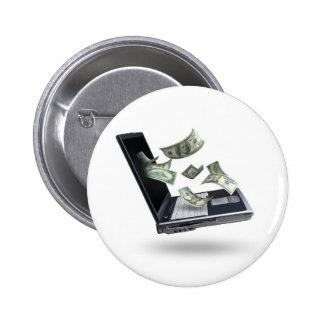 Finances 2 Inch Round Button