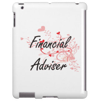 Financial Adviser Artistic Job Design with Hearts