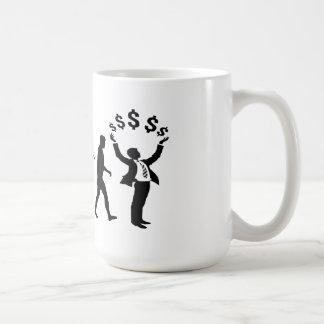 Financial adviser banker investment broker gear coffee mug