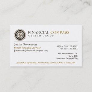 Financial Advisor Yst Finance Comp Business Card