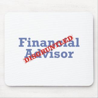 Financial Advisor / Disgruntled Mouse Pad