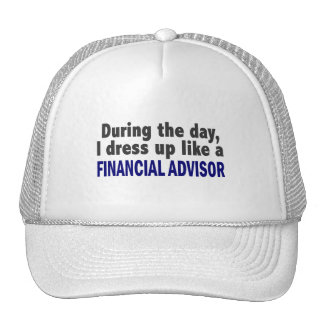 Financial Advisor During The Day Hats