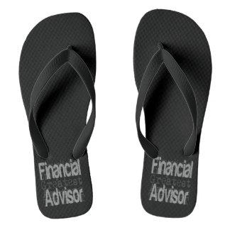 Financial Advisor Extraordinaire Flip Flops