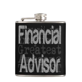 Financial Advisor Extraordinaire Hip Flask