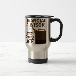 Financial Advisor (Funny) Chocolate Travel Mug
