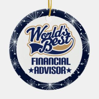 Financial Advisor Gift Ornament