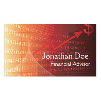 Financial Advisor Personal Card Business Cards