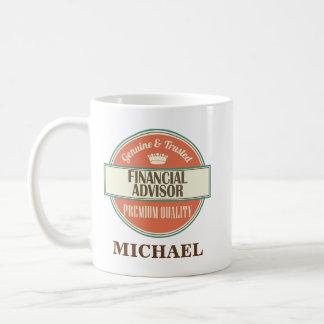 Financial Advisor Personalized Office Mug Gift
