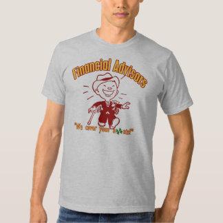 Financial Advisors Tshirt