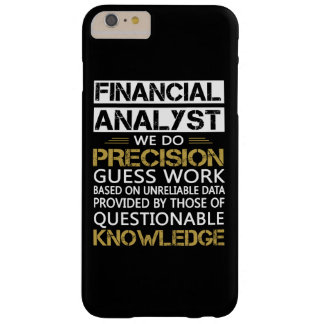 FINANCIAL ANALYST BARELY THERE iPhone 6 PLUS CASE