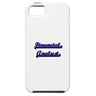 Financial Analyst Classic Job Design iPhone 5 Cases