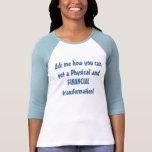 Financial and physical transformation shirts