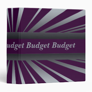 Financial Budget Binder