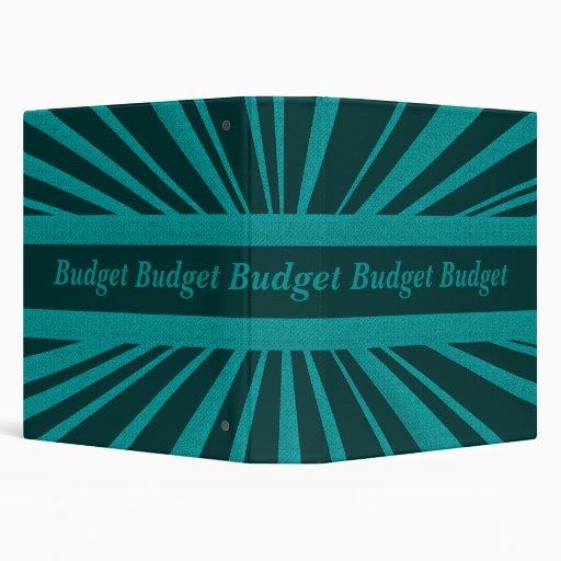 Financial Budget Binder