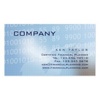 Financial Computer Technical Business Card