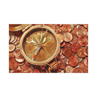 Financial Direction Canvas Print