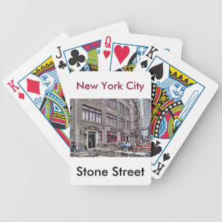 Financial District-Lower Manhattan Bicycle Playing Cards